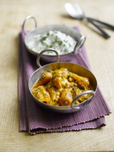 Quick Chantenay & cauliflower curry